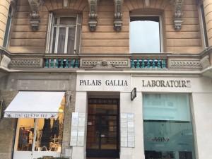 Entrée du Cabinet des dentistes Dr Fino, Dr Gabai, Dr Michel N. , Dr Miche P., Dr Lamure, Dr Melkonian, Dr Tibi à Beausoleil en limite de Monaco.